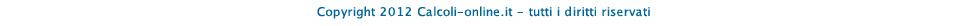 calcoli-online